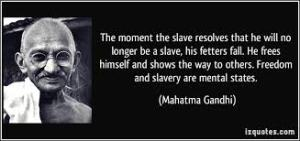 freedomandslaverygandhi